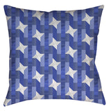 Pinwheel Navigator Throw Pillow - Domestic Platypus
