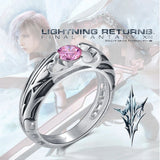 Final Fantasy XIII Lightning Ring, Sterling Silver