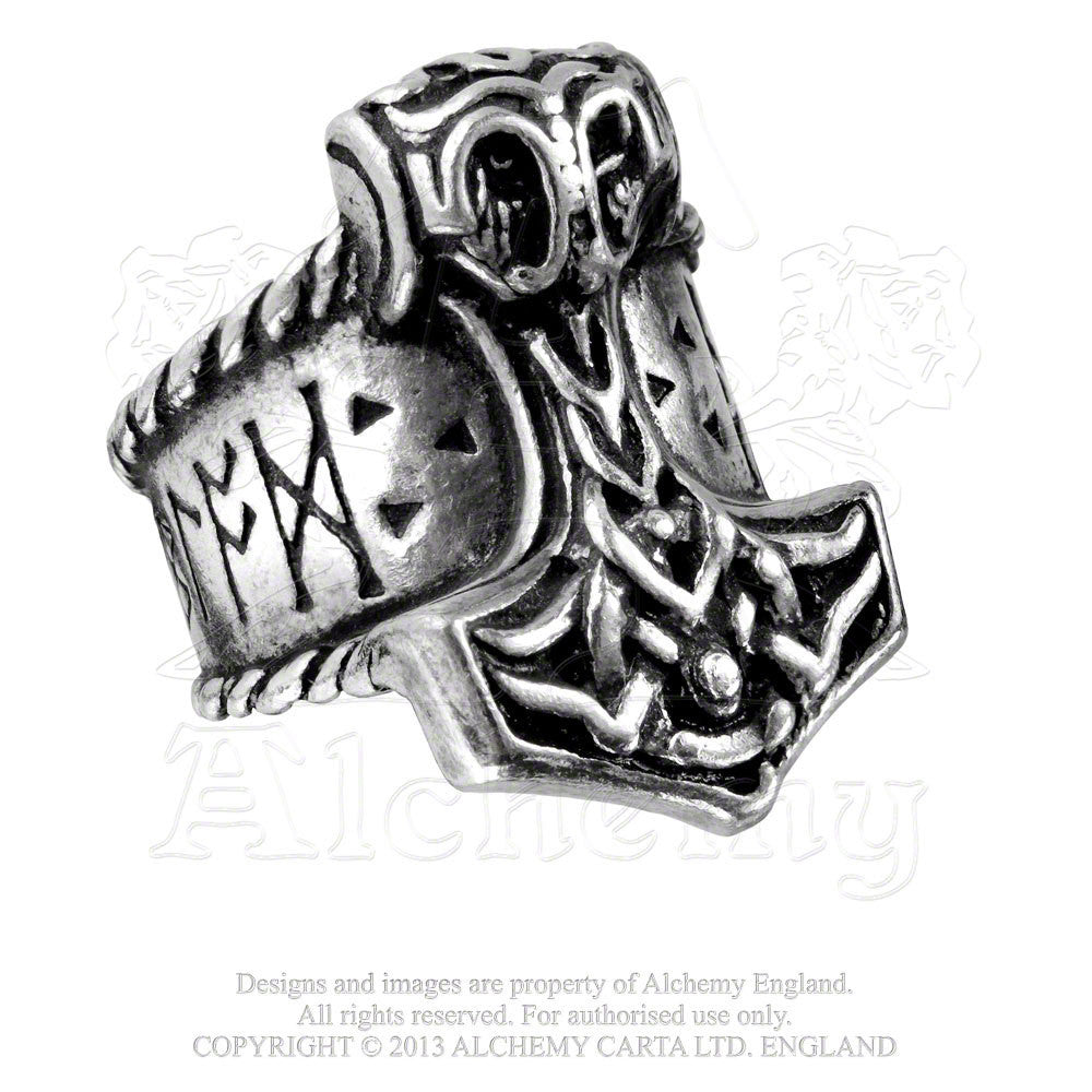 Alchemy RUNEHAMMER Ring