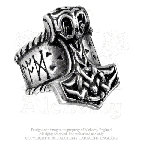 Alchemy RUNEHAMMER Ring - Domestic Platypus