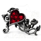 Alchemy Gothic BED OF BLOOD ROSES Spanner Ring - Domestic Platypus