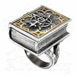 Alchemy DEE'S BOOK OF ANGEL MAGIC Stash Ring