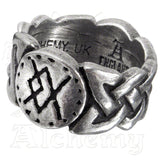 Alchemy Metal-Wear VIKING VIRILITY RUNE Ring