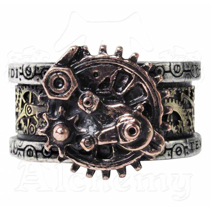 Alchemy Empire QUANTA MECHANICA COSMONATALLOGY Ring - Domestic Platypus