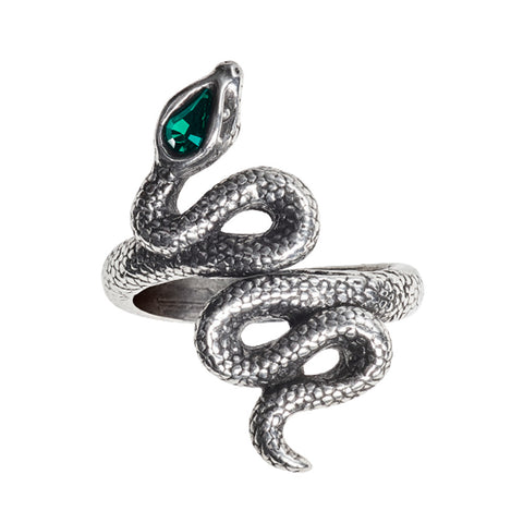 Psalm 68 Serpent Ring, Alchemy Gothic