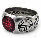 Alchemy Gothic AGLA Signet Ring - Domestic Platypus