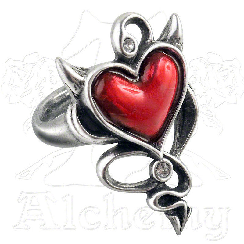 Alchemy of England DEVIL HEART Ring