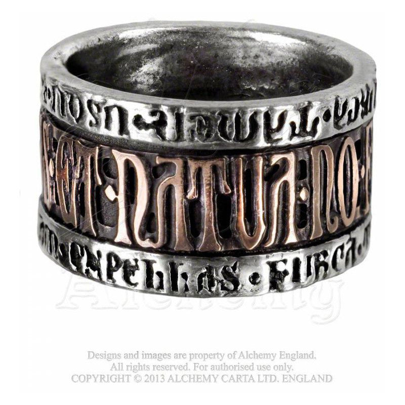 Alchemy Gothic DEUS NATURA Ring - Domestic Platypus