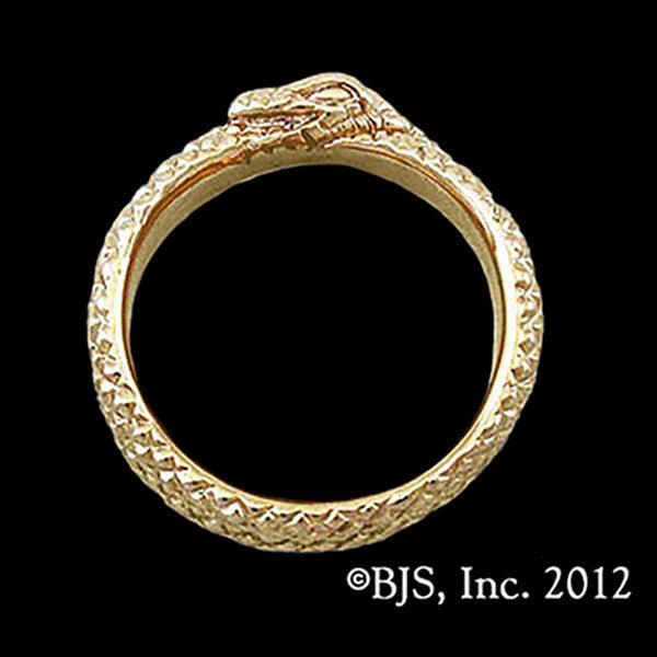 Wheel of Time ® AES SEDAI GREAT SERPENT RING 10k Gold - Domestic Platypus