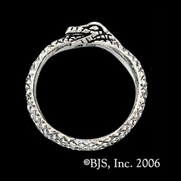 Wheel of Time ® AES SEDAI GREAT SERPENT RING Sterling Silver - Domestic Platypus