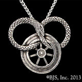 Wheel of Time SNAKE WHEEL Necklace - Domestic Platypus