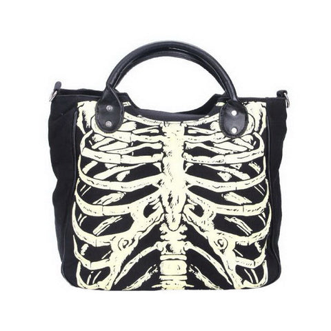 Luminous Bones Satchel Bag