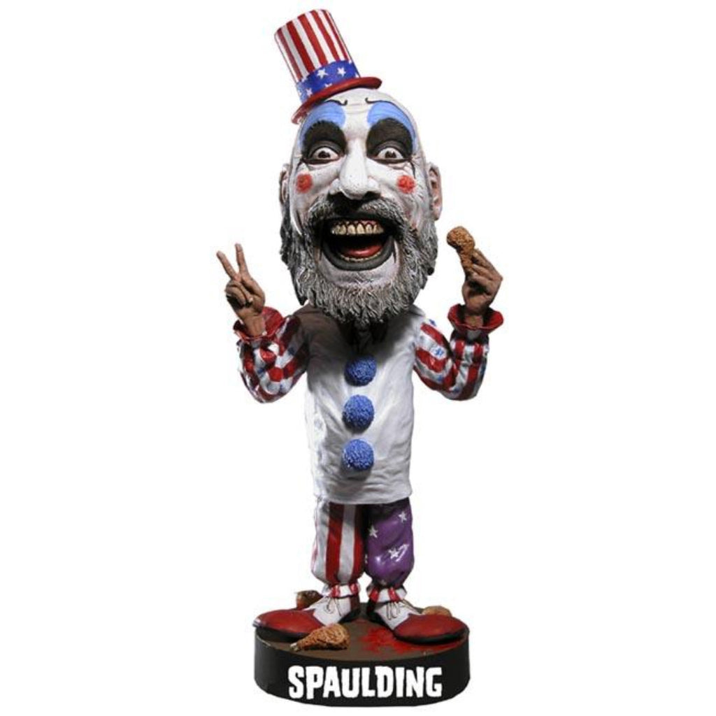 House of 1000 Corpses CAPTAIN SPAULDING Head Knocker - Domestic Platypus