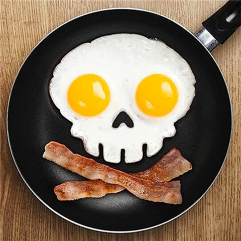 Skull Shaped Silicone Cooking Form