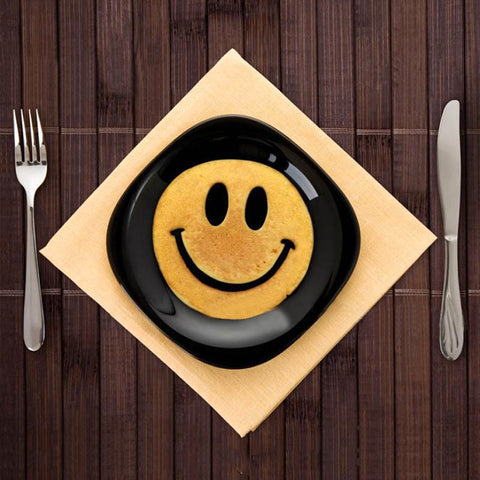 Smiley Face Silicone Cooking Form