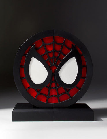 Spider-Man Logo Bookends