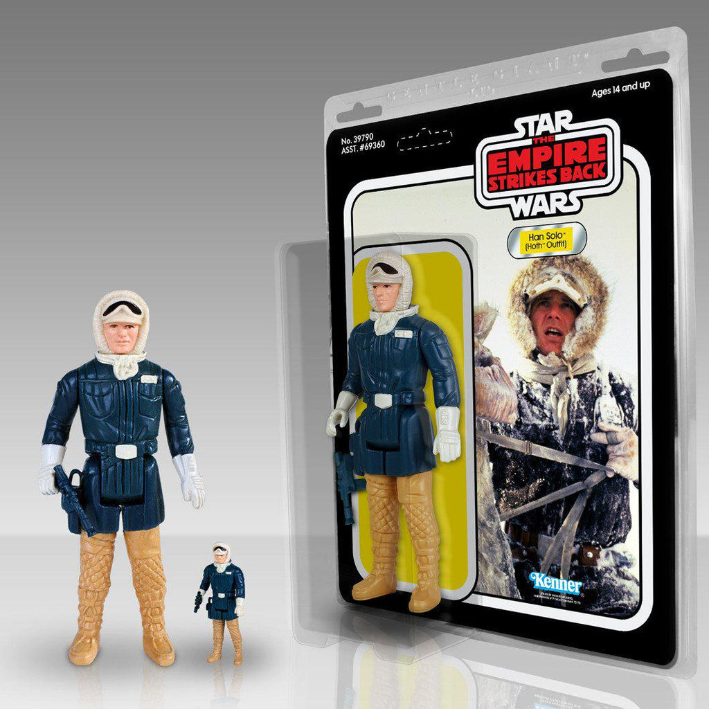"Star Wars: Kenner 12"" Jumbo Figure HAN SOLO in Hoth Battle Gear - Domestic Platypus"