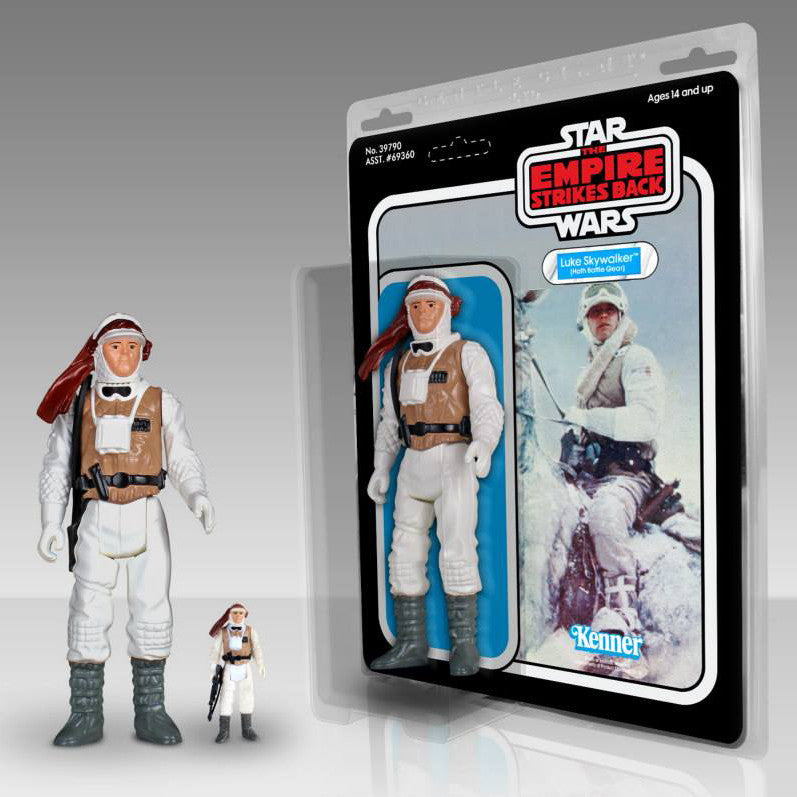 "Star Wars: Kenner 12"" Jumbo Figure LUKE in Hoth Battle Gear - Domestic Platypus"