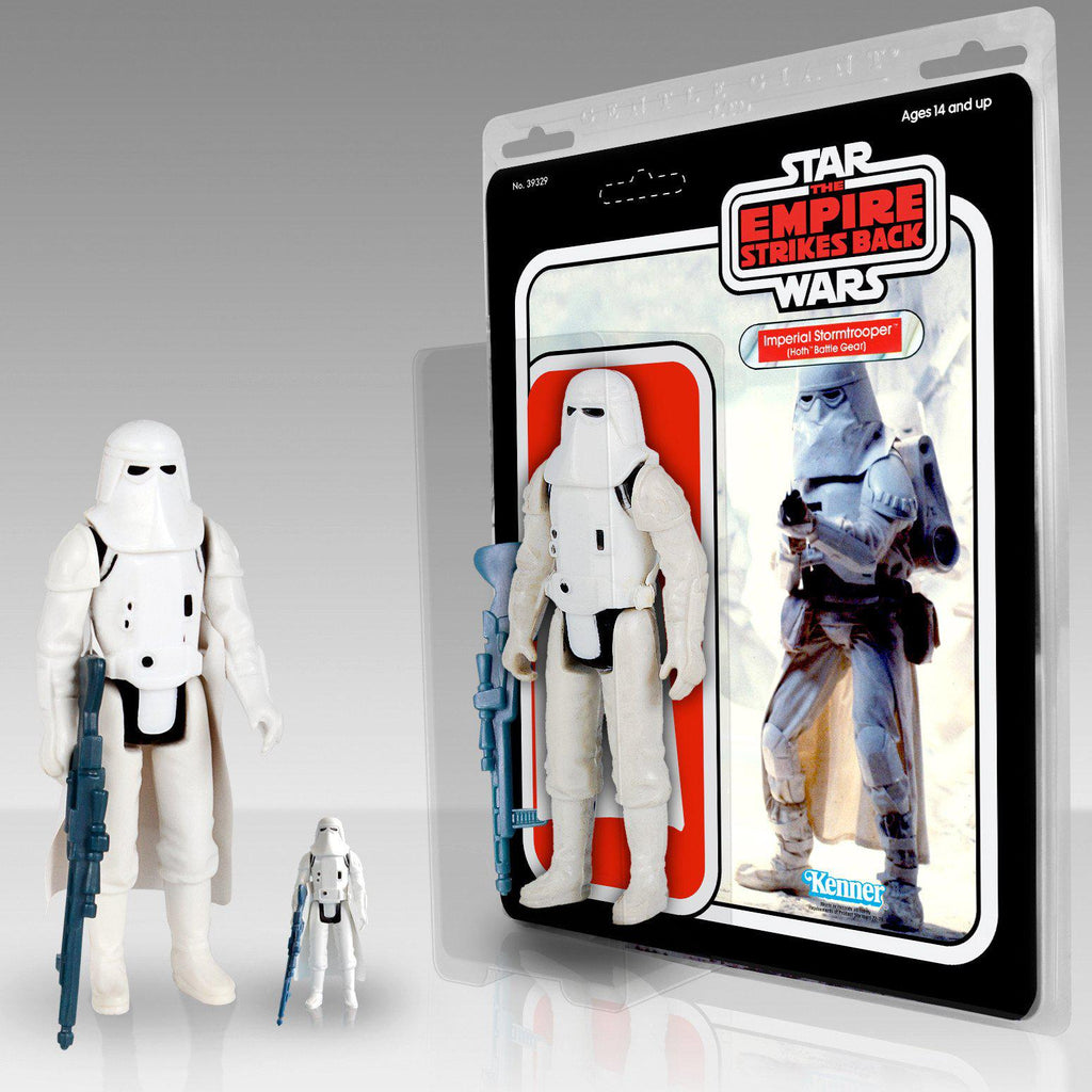 "Star Wars: Kenner 12"" Jumbo Figure IMPERIAL SNOWTROOPER in Hoth Battle Gear"