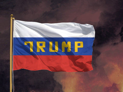 Russian Trump Flag - Domestic Platypus