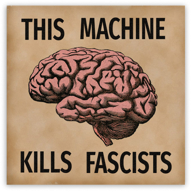 This Machine Kills Facists Magnet - Domestic Platypus