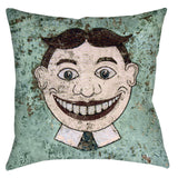 Tillie Throw Pillow - Domestic Platypus
