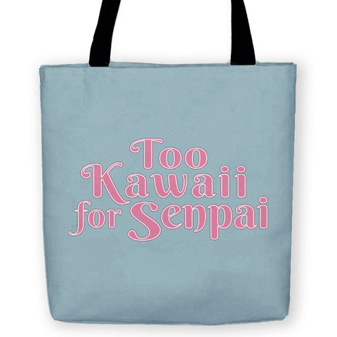 Too Kawaii for Senpai Carryall Tote - Domestic Platypus