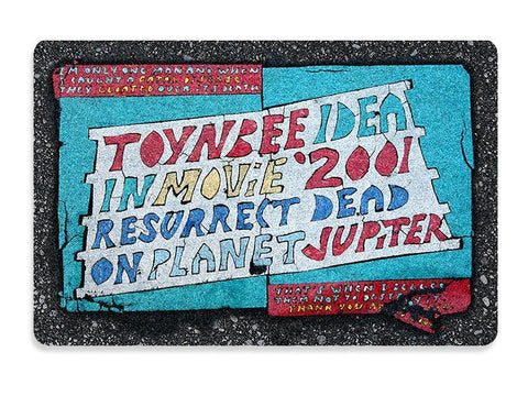 Domestic Platypus-Toynbee Tile Doormat - Free Shipping - Unique Street Art Floor Mat-Doormat-[meta description]