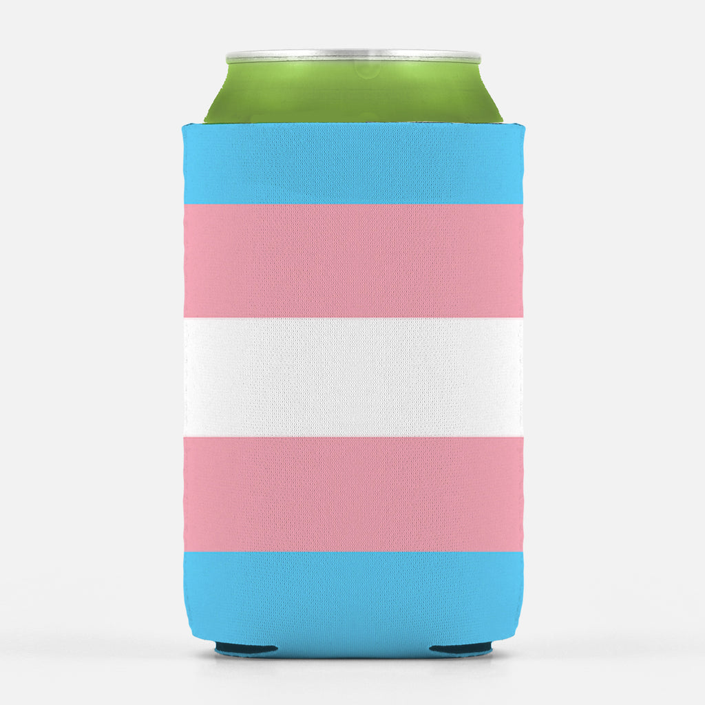 Trans Pride Can Cooler