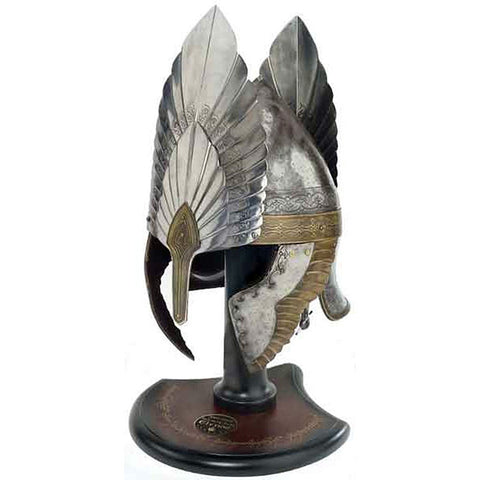 Lord of the Rings HELM OF KING ELENDIL Prop Replica - Domestic Platypus