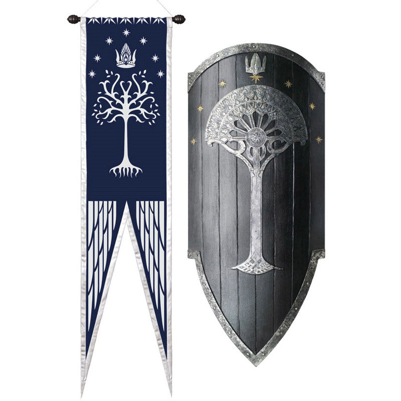 Lord of the Rings SECOND AGE GONDORIAN WAR SHIELD Prop Replica - Domestic Platypus