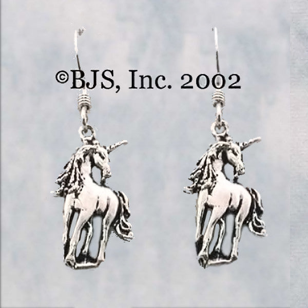 Unicorn Dangle Earrings - Domestic Platypus