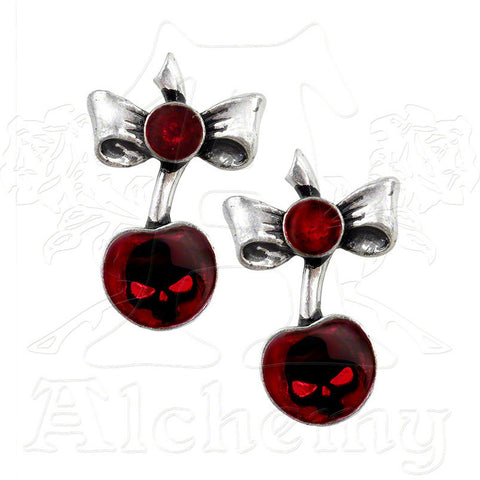 "Alchemy UL13/UL17 ""Black Cherry"" Earrings - Domestic Platypus"