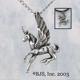 "Winged Unicorn ""Unisus"" Pendant Necklace - Domestic Platypus"