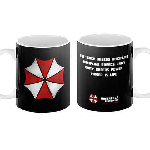 Umbrella Corp Staff Mug - Domestic Platypus