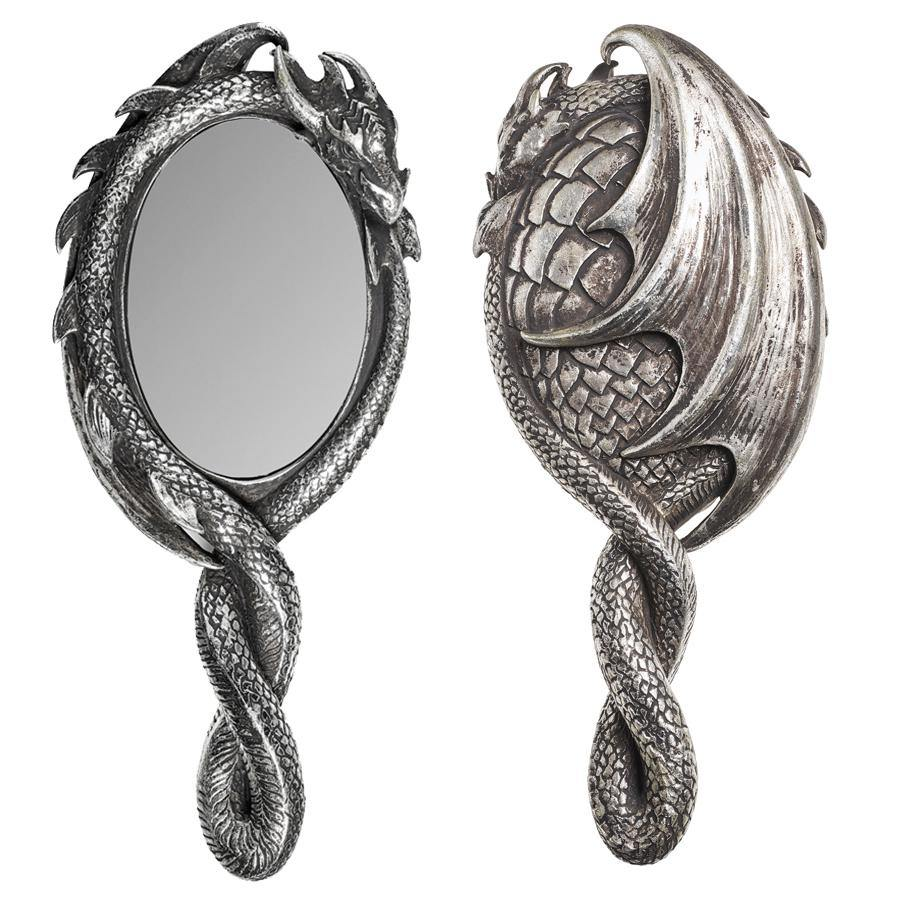 Dragon Hand Mirror, Alchemy Gothic