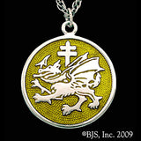 Dracula's ORDER OF THE DRAGON Pendant Necklace - Domestic Platypus