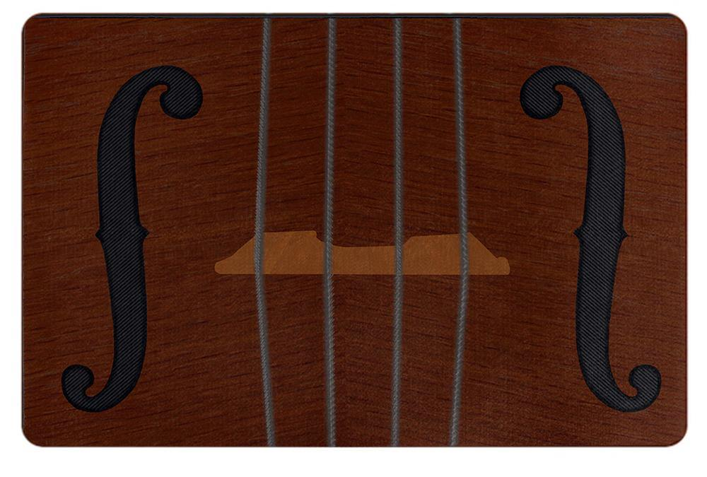 Violin Viola Cello Doormat