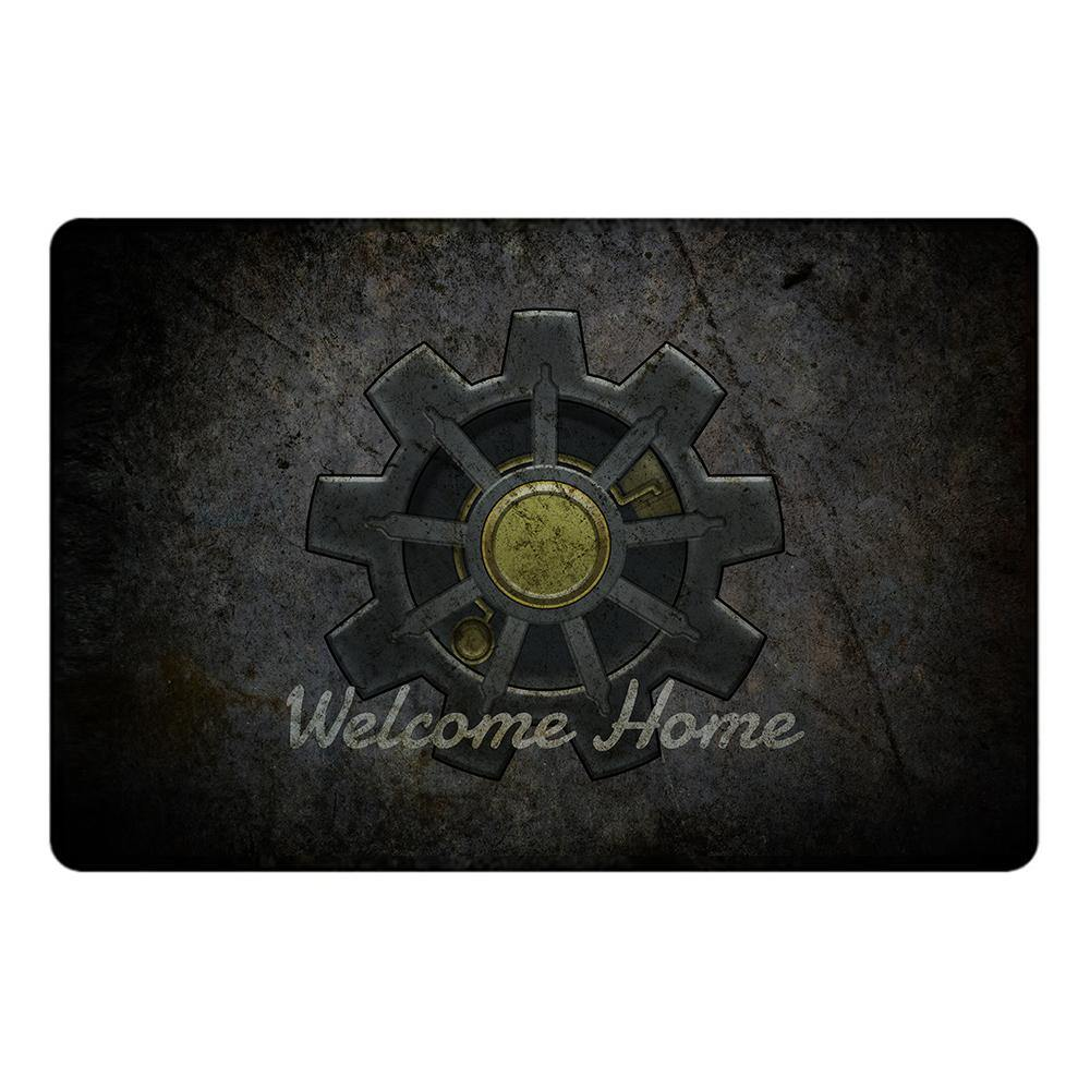 Welcome Home Vault Doormat