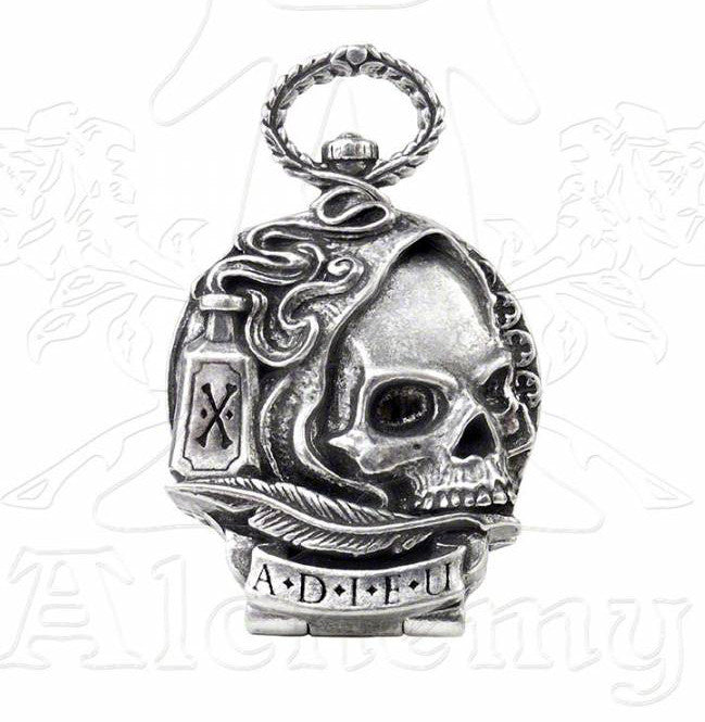 Alchemy Gothic DEATH OF BYRON Pocket Watch
