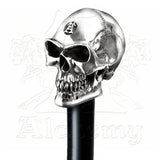 Alchemy STERLING SILVER SKULL Walking Stick - Domestic Platypus