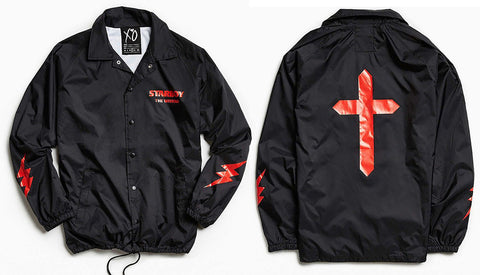Domestic Platypus-The Weeknd Limited Edition Starboy Coaches Jacket, Ltd Ed Windbreaker-Jacket-[meta description]