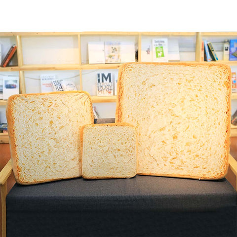 White Bread Cushion / Pet Bed