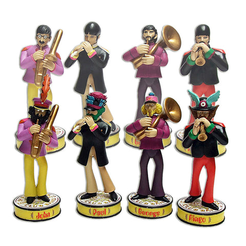 Beatles: Yellow Submarine Band Member Shakem Deluxe Motion Statues