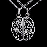 BRAINS Friendship Necklace Set - Domestic Platypus