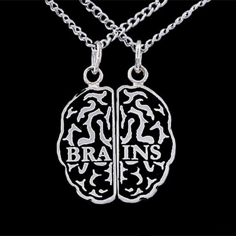 BRAINS Friendship Necklace Set
