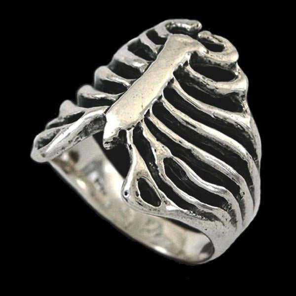 Ribcage Ring - Sterling Silver - Domestic Platypus