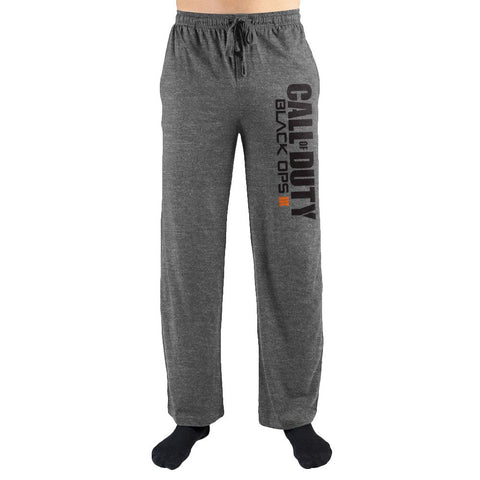 Domestic Platypus-Call of Duty Black Ops 3 Text Logo Lounge Pants, CoD BO III Sweatpants-Lounge Pants-[meta description]