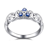 Legend of Zelda Breath of the Wild Zora Engagement Ring, Sterling Silver