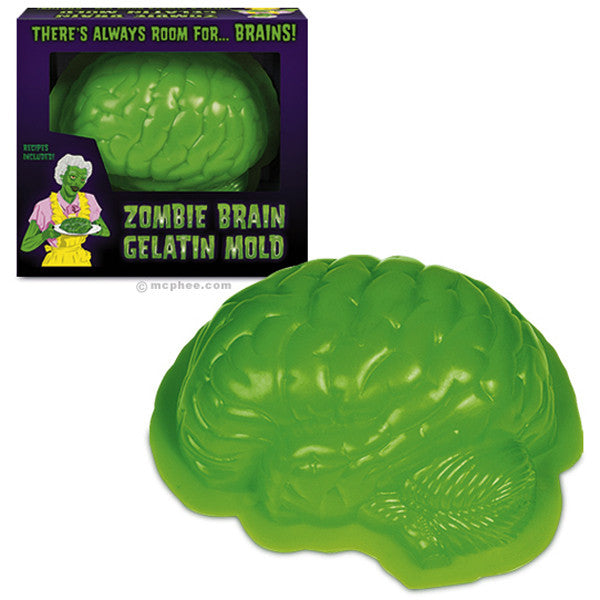 Zombie Brain Gelatin Mold - Domestic Platypus